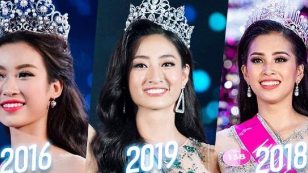'Lời nguyền' Top 3: Đỗ Mỹ Linh - Trần Tiểu Vy - Lương Thùy Linh không mang sash phụ đồng loạt đăng quang