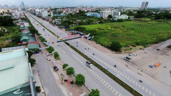 Hà Nội xây đường rộng 40m qua huyện Hoài Đức