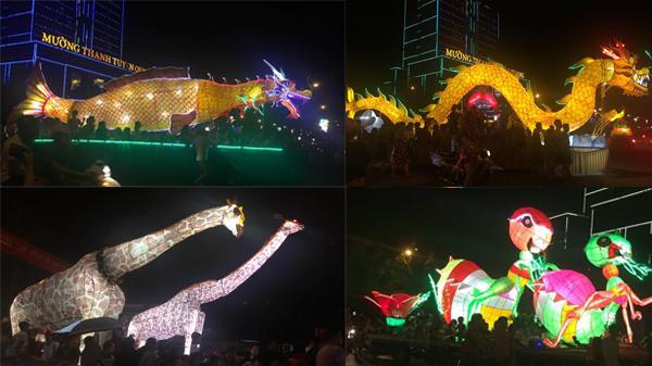 Tuyên Quang: Tròn mắt ngắm nhìn những hình ảnh đèn lồng khổng lồ đầu tiên tại Lễ hội Thành Tuyên 'đỉnh' nhất Việt Nam