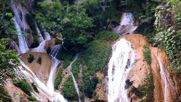 Đến Tuyên Quang đừng quên khám phá thác Bản Ba - Nơi núi rừng hoang sơ tuyệt đẹp