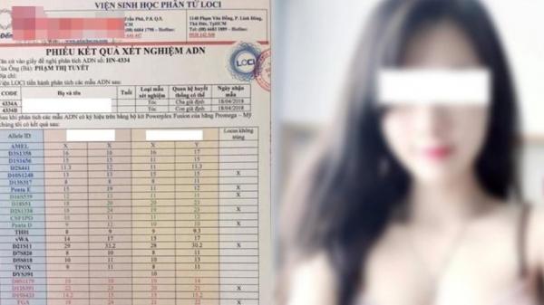 Cô gái dẫn 4 người tình đi xét nghiệm ADN để xác nhận xem ai mới là bố của con mình