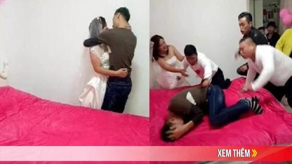 Vừa về phòng tân hôn thấy vợ đang hôn thằng bạn thân, chú rể nhọ nhem nhất chính là anh