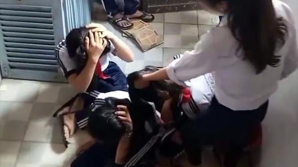 3 nữ sinh miền Tây lớp 7 bị đánh dã man, kêu gào thảm thiết