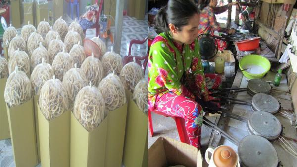 Vĩnh Long: Làng bánh truyền thống Tường Lộc tất bật dịp cuối năm