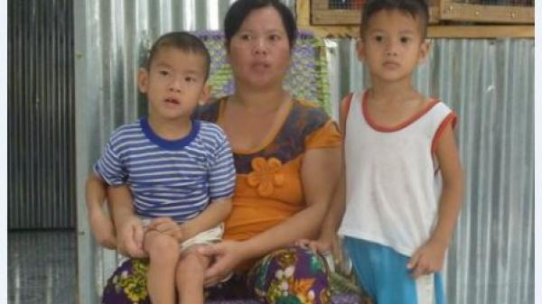 Vĩnh Long: Bé trai bị di chứng bại não, gia cảnh khó khăn cần sự giúp đỡ