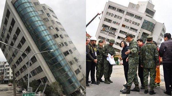 Gần 400 người thương vong, mất tích trong trận động đất ở Đài Loan