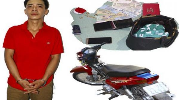 Vĩnh Long: Bắt giữ đối tượng trộm cắp tài sản