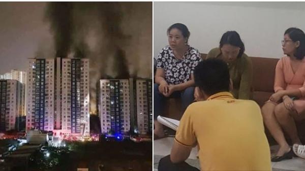 Kinh hoàng cháy chung cư, 13 người chết: Đêm trước cư dân còn bức xúc...