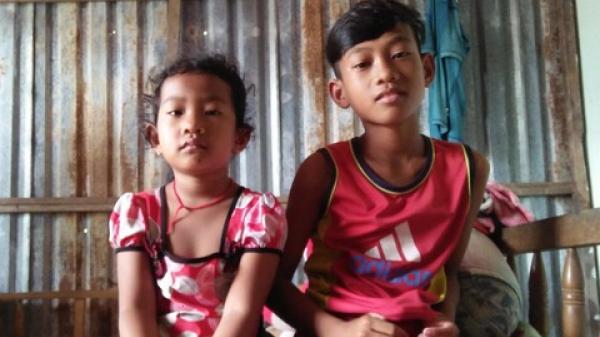 Vĩnh Long: Xót xa bé trai học lớp 6 bắt cua nuôi cha, chăm em gái nhỏ học mầm non