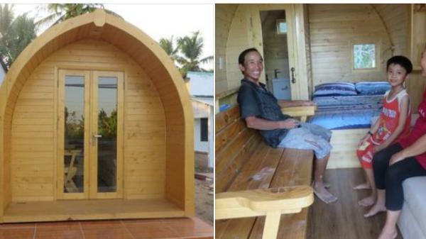 """Độc đáo căn nhà gỗ """"tí hon"""" ở Vĩnh Long với đầy đủ tiện nghi khiến giới trẻ mê tít"""