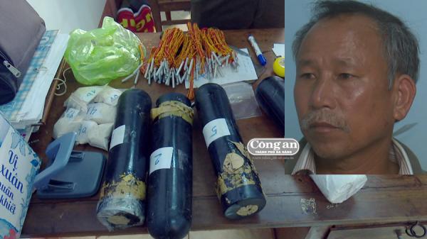 Đắk Lắk: Buôn hỏa dược bị bắt