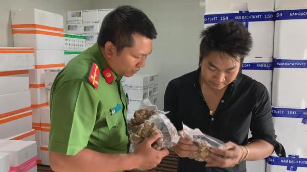 Phát hiện gần 600kg nấm không đảm bảo VSATTP tại Đắk Lắk