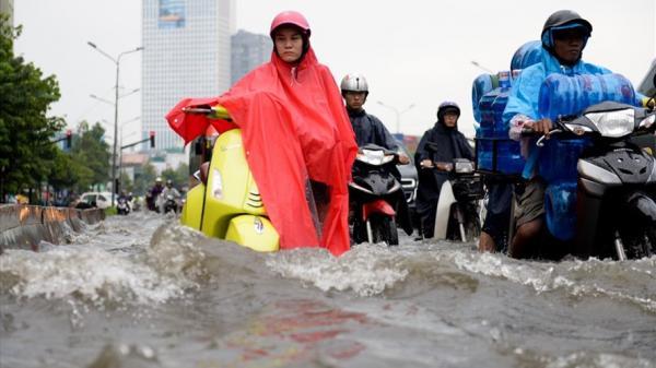 Cảnh báo nguy cơ ngập lụt tại TP Hồ Chí Minh, Cần Thơ, Vĩnh Long