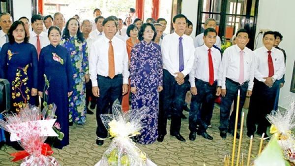 Vĩnh Long: Long trọng tổ chức lễ kỷ niệm 95 năm Ngày sinh Thủ tướng Võ Văn Kiệt và 77 năm Ngày Nam kỳ khởi nghĩa