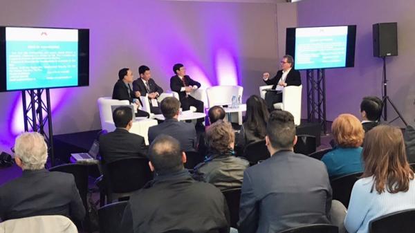 Nhóm công tác của tỉnh dự Hội thảo xúc tiến đầu tư tại Cộng hòa Pháp