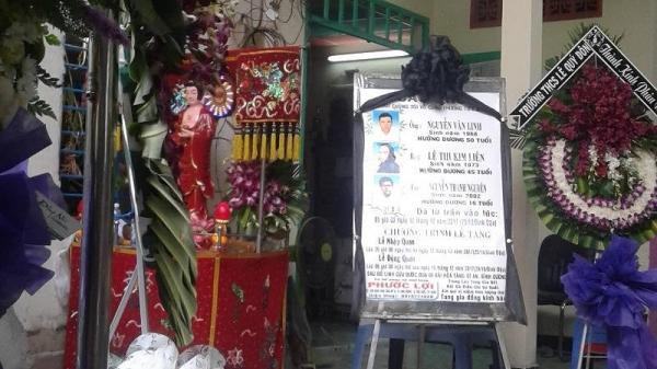 Đám tang đẫm nước mắt của 3 người trong vụ một gia đình tử vong vì thiếu nợ