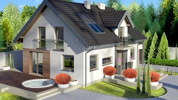 Gợi ý những mẫu nhà mái ngói giá siêu rẻ với không gian mở 2018