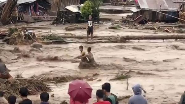Bão Tembin sắp vào Việt Nam đã càn quét thảm khốc ở Philippines