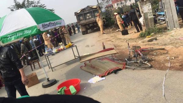 Vĩnh Phúc: Học sinh lớp 3 bị xe tải cán chết thương tâm sau giờ tan trường