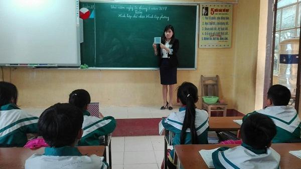 Vĩnh Phúc: Nghị lực của cô giáo Trương Thị Phương ở một ngôi trường miền núi khó khăn