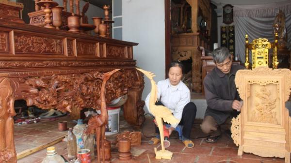 Vĩnh Phúc: Người dân nô nức làm hàng Tết kiếm bạc triệu mỗi ngày