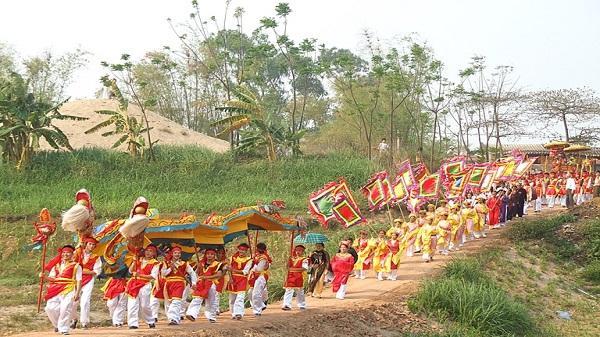 Độc đáo lễ hội rước nước tại Vĩnh Tường