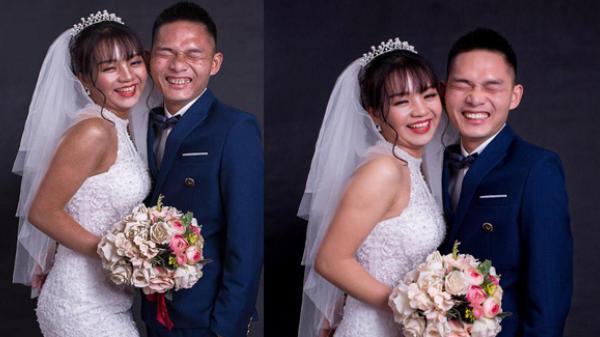 """Lạ lùng cặp đôi rủ nhau lên Vĩnh Phúc chụp bộ ảnh cưới """"xấu đến giật mình"""""""