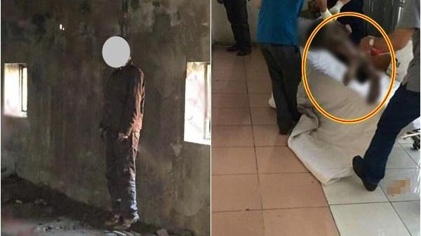 Giật mình phát hiện người đàn ông treo cổ trong nhà riêng