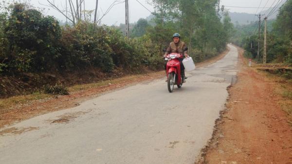 Vĩnh Phúc: Đường tỉnh 301 Đại Lải- Đèo Nhe xuống cấp nghiêm trọng
