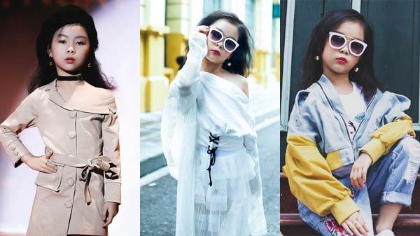 Cô bé 8 tuổi ở Vĩnh Phúc sở hữu gu thời trang y hệt fashionista khiến bà mẹ nào cũng muốn có một cô con gái