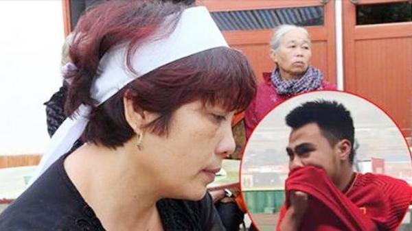Mẹ tiền vệ Đức Huy: 'Mong con hãy biến đau thương thành hành động để chiến thắng'
