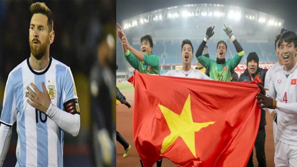 Messi ngậm ngùi gửi tâm thư cho người hâm mộ Việt Nam