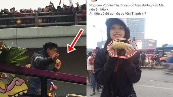 Nhặt được bắp ngô ăn dở của cầu thủ U23, cô gái khiến dân mạng vừa GATO vừa cười bò