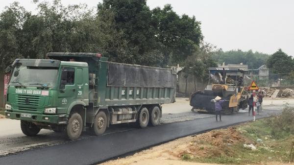 Vĩnh Phúc: Đẩy nhanh tiến độ xây dựng Dự án cải tạo, nâng cấp ĐT.302 đoạn qua suối Đình Cả