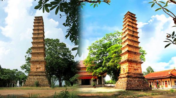Bí ẩn tòa tháp khổng lồ ngót ngàn năm tuổi ở Vĩnh Phúc