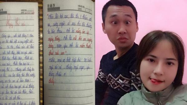 Bất ngờ trước cuốn nhật ký tình yêu phải trùm chăn để đọc của cô nàng Vĩnh Phúc