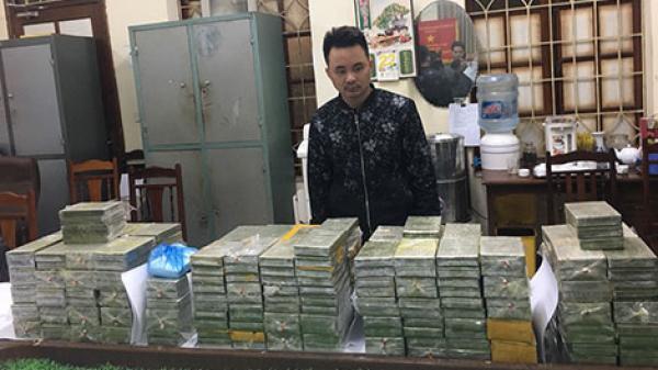 """Nổ súng bắt """"ông trùm"""" quê Vĩnh Phúc vận chuyển hàng trăm bánh heroin tinh vi"""