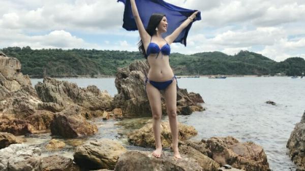 Vẻ đẹp xiêu lòng của người đẹp quê Vĩnh Phúc trong trang phục bikini