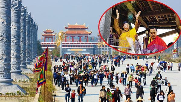 HOT: Đức Pháp Vương Gyalwang Drukpa chủ trì đại lễ cầu an tại Vĩnh Phúc