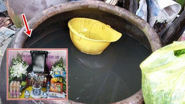 Bé 2 tuổi tử vong vì ngạt nước trong chum