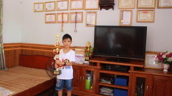 Vĩnh Phúc: Thần đồng số học giành vô số giải thưởng lớn trong nước và quốc tế