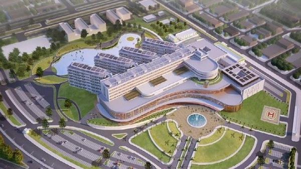Bộ Quốc phòng (Tổng Công ty Thành An) khởi công dự án Nhà điều trị nội trú, Bệnh viện đa khoa tỉnh Vĩnh Phúc