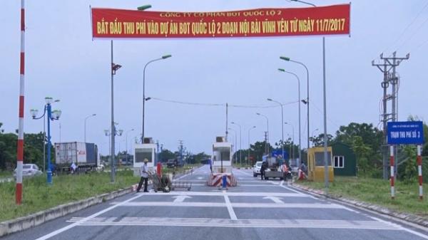 Chuẩn bị thu phí trên đường trục đô thị mới Mê Linh vào Quốc lộ 2