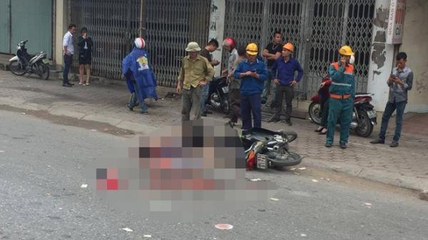 Tai nạn thương tâm khiến cụ ông chở cụ bà ngã ra đường bị xe tải đâm tử vong