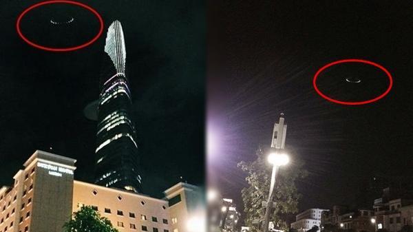 Phát hiện vật thể lạ nghi giống đĩa bay vụt qua tháp Bitexco?