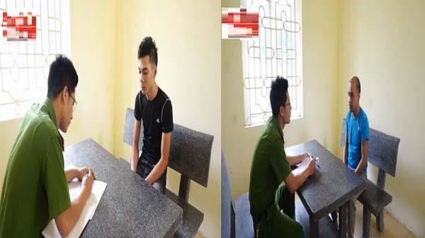 Clip hỏi cung: Bức xúc với vẻ lạnh lùng của hai nghi phạm sát hại bé trai 8 tuổi ở Vĩnh Phúc