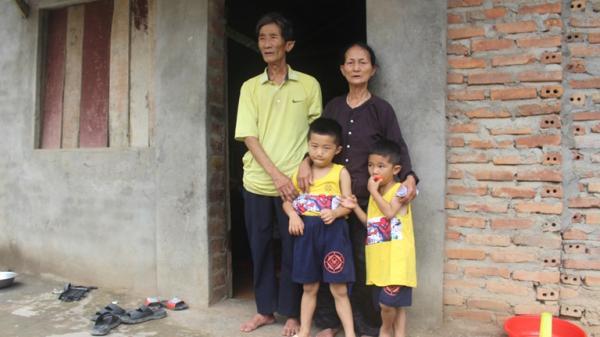 Vĩnh Phúc: Rơi nước mắt trước hoàn cảnh đáng thương của hai bé mồ côi cả cha lẫn mẹ