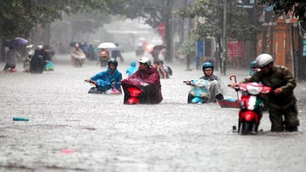 Thời tiết 13/7: Bắc Bộ mưa to, một số nơi có thể ngập sâu