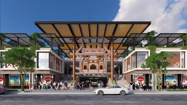Vĩnh Phúc: Chợ Vĩnh Yên về đích đúng hẹn và chính là điểm nhấn về công tác quy hoạch của TP Vĩnh Yên