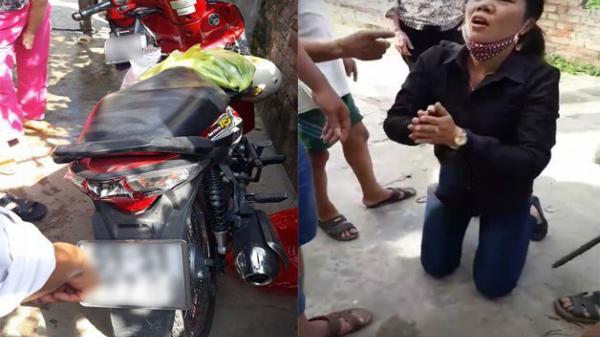 Nóng: Người dân vây bắt 4 đối tượng Nam Định thôi miên cướp tài sản